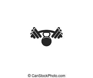 Fitness symbol illustration