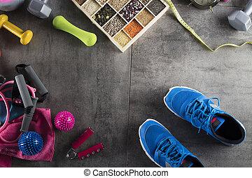fitness, thema