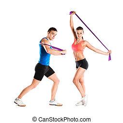 fitness, träningen