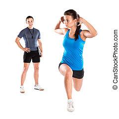 fitness, trainer