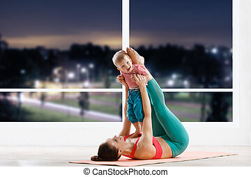 fitness with baby