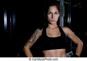Fitness Woman 1