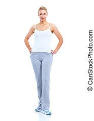 Fitness woman.