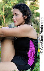 Fitness Young Girl