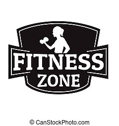 Fitness zone stamp