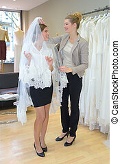 fitting the veil