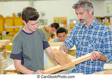 fitting wood
