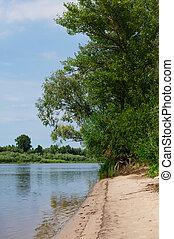 fiume, banca