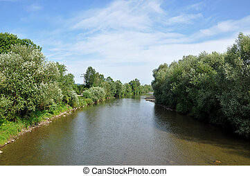 fiume, tranquillo