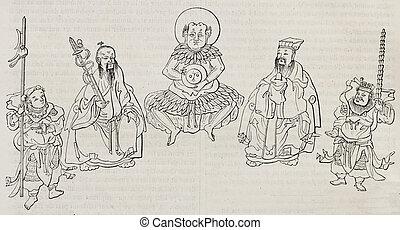 Chinese talismans