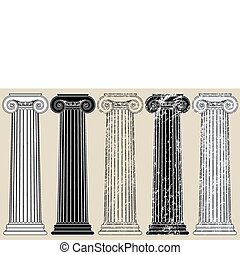 Five Columns, clean and grungy, for anything you may need to...