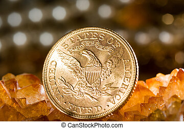 Five Dollars gold coins