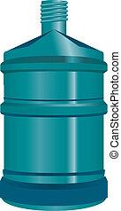 Five-gallon bottle water
