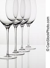 Five glasses of wine