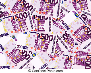 five hundred euro background