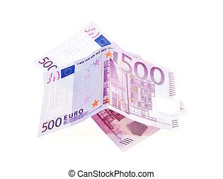 Five hundred Euro bill