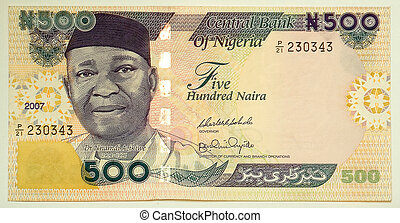 Five hundred naira