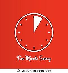 five minute survey