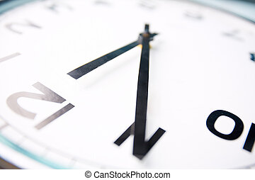Five minutes left