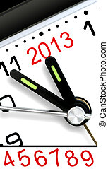Five Minutes To Next Year