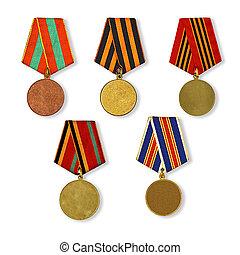 patterns medals