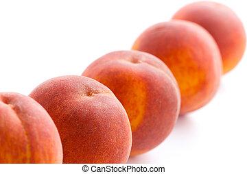 five peaches