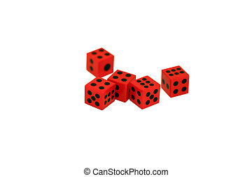 Five Red Dice