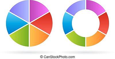 Five segments cycle diagram