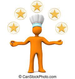 Five-Star Chef Manikin