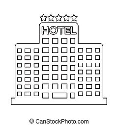 Five Star Hotel Icon