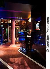 Five star hotel lobby