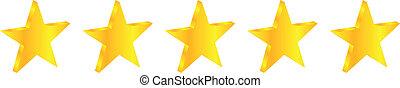 Five Star Quality Premium Product Illustration Vector