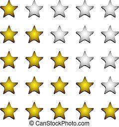 Five stars ratings