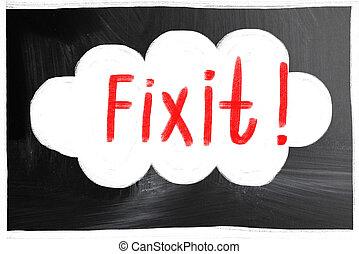 fix it concept
