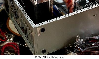 fix main board in computer case