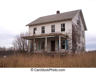 Fixer-upper - Abandoned house