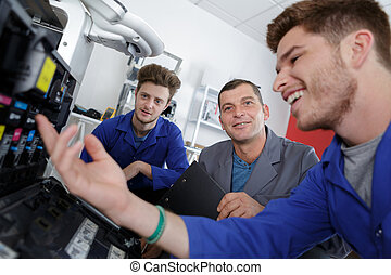 fixing a printer class