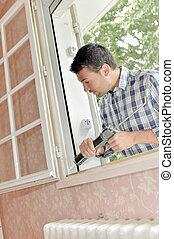 fixing a window