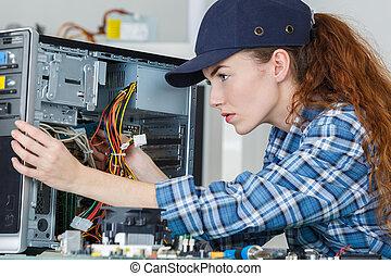 fixing computer hardware