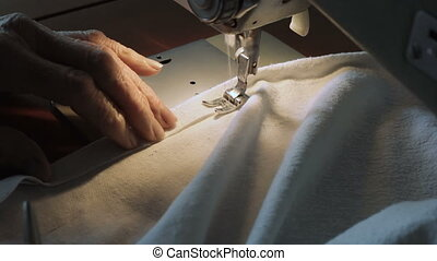 Sewing machine - Fixing seam with Sewing machine