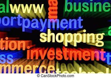 fizetés, bevásárlás, befektetés