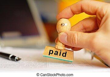 fizetve