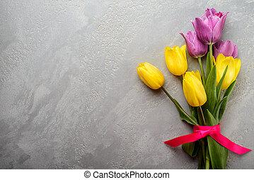 fjäder, blommig, bakgrund