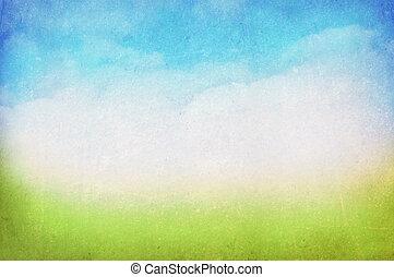 fjäder, sommar, bakgrund