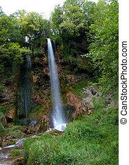 fjäll, vattenfall