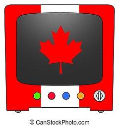 fjernsynet, canada