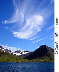 Fjord skies, Siglufjörður, Iceland