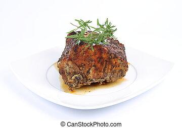 fläsk stek