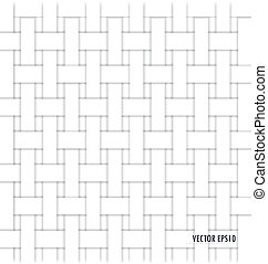 flätverk, pattern), (seamless, bakgrund