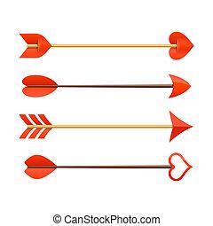 flèches, cupid's